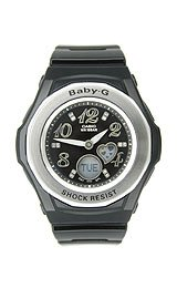 Baby-G Women's Ana-Digi 'Heart' Watches #BGA-100-1B