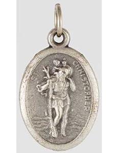 Amazon.com: Saint Christopher Amulet - CATHOLIC PATRON SAINT OF TRAVEL