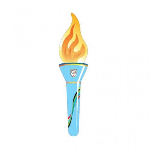 Olympics Decorations - Great Britain Union Jack Inflatable Foil Torch