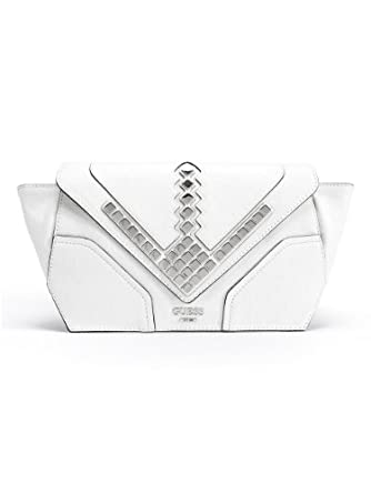 Where to buy GUESS Marysa Studded Clutch WHITE Clothing