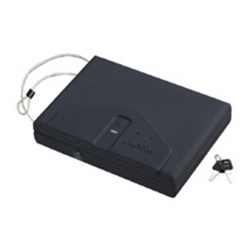 Stack-On Portable Case W/ Biometric Lock front-113399