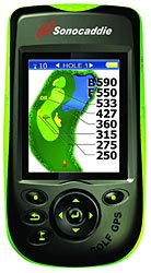 Sonocaddie V300 Color GPS Unit