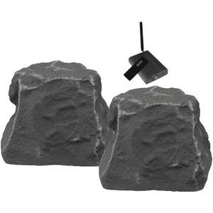 Tic Corporation Wrs010 Sl 5.25 Wireless Outdoor Rock Speakers (Slate)