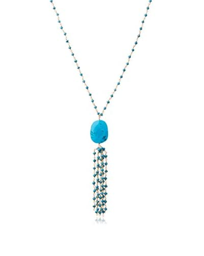Heather Hawkins Turquoise Tassel Necklace As You See