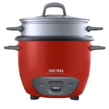 Aroma Rice Cooker And Food Steamer front-311711