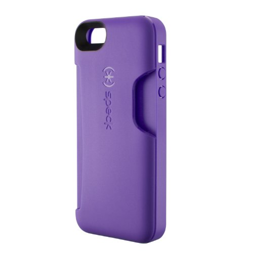 Great Price Speck Products SmartFlex Card Case for iPhone 5 & 5S - Retail Packaging - Grape Purple