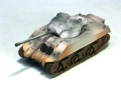 イギリス軍 ファイアフライ 中戦車  冬季迷彩(ホワイト上塗り)