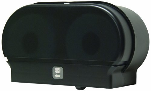 Palmer Fixture RD0321-02 Mini-Twin Standard Tissue Dispenser, Black Translucent by Palmer Fixture (English Manual)