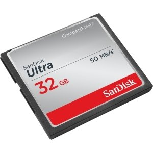 SanDisk Ultra 32 GB CompactFlash (CF) Card - 50 MBps Read - 1 Card - SDCFHS-032G-A46 (32 Gb Sandisk Cf compare prices)