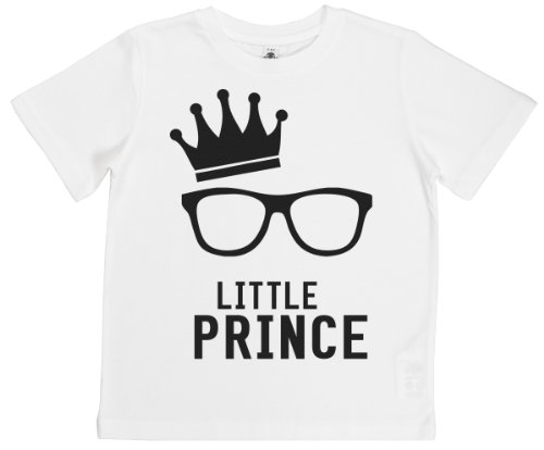 Phunky Buddha - Little Prince Children'S T-Shirt Top 9-10 Yrs - White front-974396