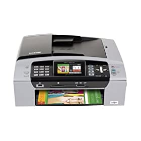 31YBDfrGShL. SL500 AA280  Brother MFC 490cw All In One Wireless Printer   $90 Shipped