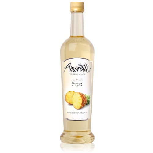 Amoretti Premium Syrup, Pineapple, 25.4 Ounce
