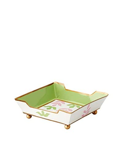 Jayes Foliage Cocktail Napkin Tray, Pink