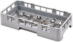 Cambro Camrack Soft Gray Half Size Flatware Rack, 2 5/8 inch Inside Rack Height -- 6 per case.