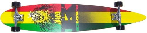 Why Choose The Krown Rasta City Surf Longboard Skateboard