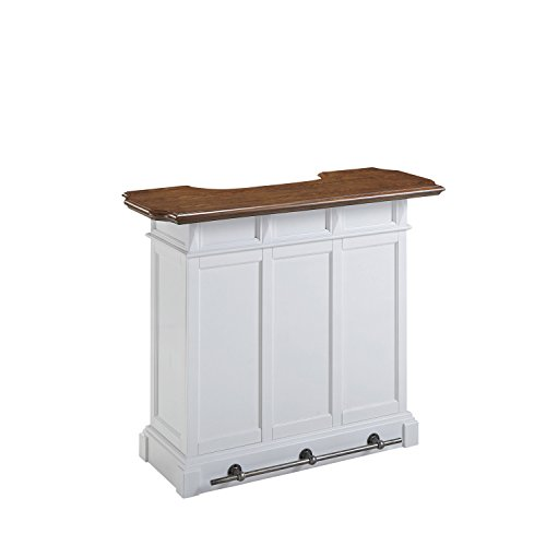 Home Styles Model 5002 99 White And Oak Finish Americana Bar Furniture Carts Islands
