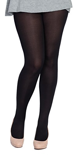 80 denier opaque tights plus size 16-20 (extra long for tall women