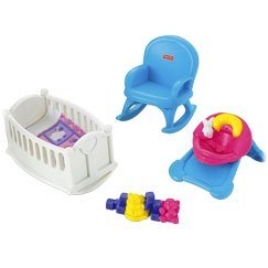 Fisher-Price My First Dollhouse Baby Room