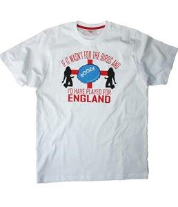 England men's 203 booze t-shirt, medium