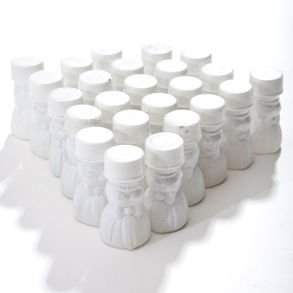 Wedding Gown Bubble Bottles, pack of 24