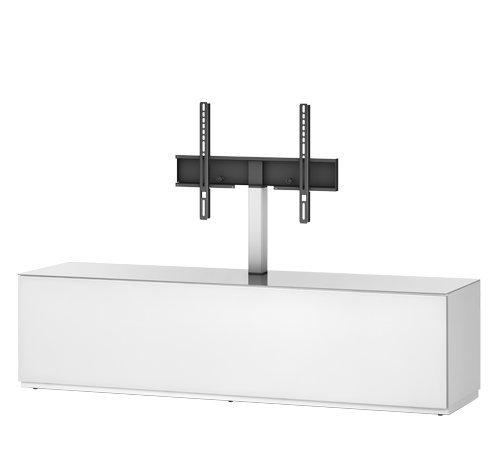 Sonorous STA 161F-WHT-WHT-BS TV-Möbel für 60