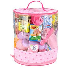 You & Me 70-Piece Doll Care Accessories Cylinder from Toys R Us