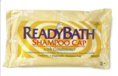 Readybath Rinse-Free Shampoo And Conditioning Caps, Scented front-589024