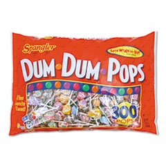 Spangler Dum Dum Pops Candy, 300-Count