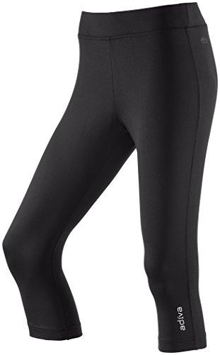ENERGETICS-Pantaloni fitness da donna AMBRE pantaloni sportivi a 3/4da donna Workout Multicolor Black, Donna, nero