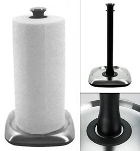 OXO Good Grips Paper Towel Holder - Stainless steel