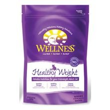 See Wellness Healthy Weight Formula Dry Cat Food 5-lb bag