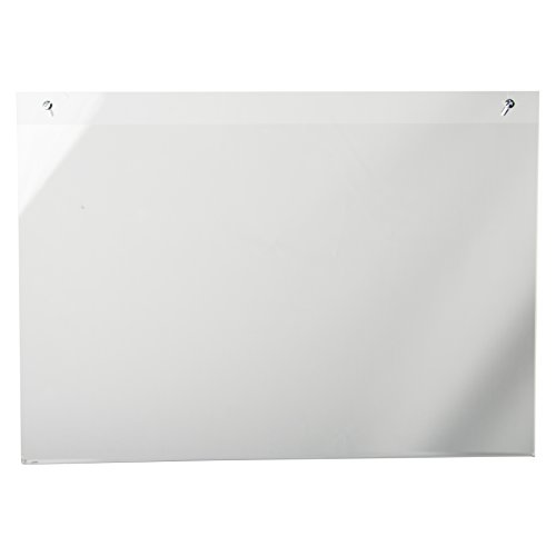 Clear-Ad - LHP-1711 - Clear Acrylic Wall Mount Sign Holder & Picture Frame 17x11 (Pack of 3) (Curved Display Frame compare prices)