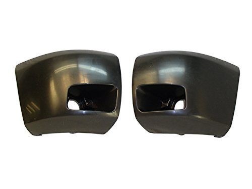 2007-2013 SILVERADO 1500 SIDE BUMPER CAP SET W/HOLE (08 Silverado Chrome Bumper Cap compare prices)