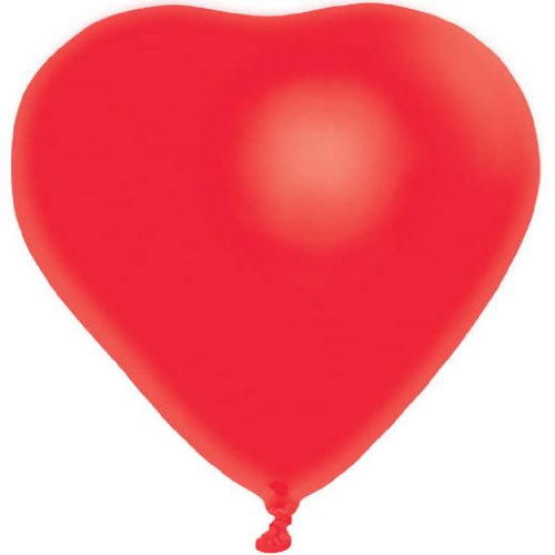 blln latex heart-shaped
