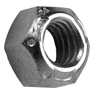 Stainless Steel Finish Hex Nuts NF 1//4-28 QTY-25