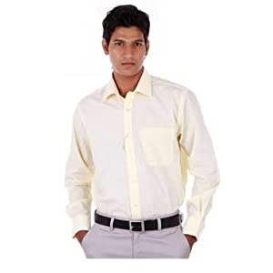 Peter England YELLOW Formal Shirt | Size 44