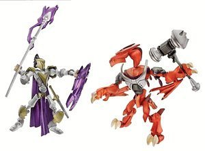 Buy Low Price Hasbro Xevoz Runeslayer vs. Firedrake Action Figures (B0006JG38S)