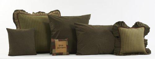 """Tea Cabin 16"""" Fabric Decorative Throw Pillow"""