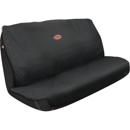 Heavy Truck Seat Covers : Dickies black heavy duty rear bench seat protector