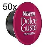 50 x Nescafe Dolce Gusto Espresso - Coffee Capsules - 50 Capsules (Tamaño: 50)