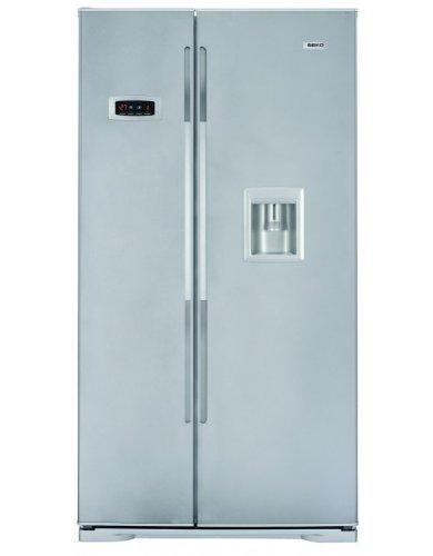 Beko GNE V222 S Side by Side / A+ / No-Frost / 0°C Zone / 468  kWh/Jahr / 358  Liter Kühlteil / 177  Liter Gefrierteil / 178 cm Höhe / Wasserspender / Wassertank