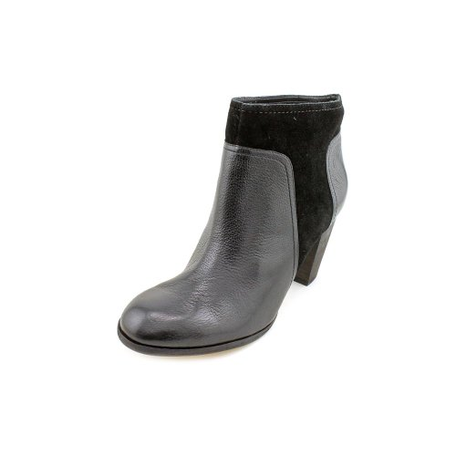 Kate Spade Luckie Womens Size 7.5 Black Leather Fashion Ankle Boots
