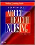 img - for Student Learning Guide to accompany Adult Health Nursing: Student Learning Guide to 3r.e by Patricia Gauntlett Beare RN PhD (1998-01-26) book / textbook / text book
