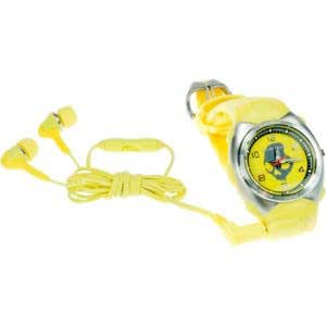 Skullcandy MacGyver MP3 Watch Yellow, One Size
