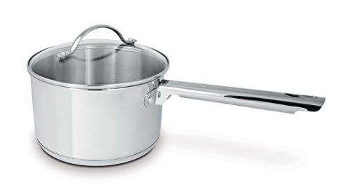 Cuisinox POT-DE20 Deluxe Covered Saucepan, 3.6-Liter, Stainless Steel