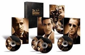 The Godfather Trilogy (5 Disc Box Set) [DVD]