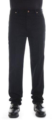 Wrangler Men'S Tall Slim Fit Cowboy Cut Jean ,Shadow Black,29X38