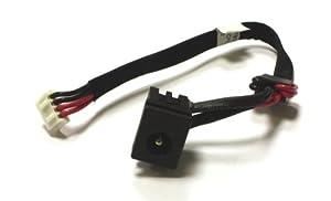 Toshiba Satellite L350-172 Kompatibel Netzteilbuchse Strombuchse mit Kabel