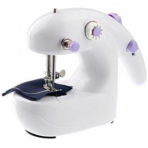 Handheld Desktop Electric Mini Sewing Machine & Portable All-In-One Sewing Box Needlework Box Set