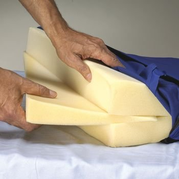 """Sammons Preston Skil Care Bed Wedges (12"""" X 24"""" X 27) front-922683"""